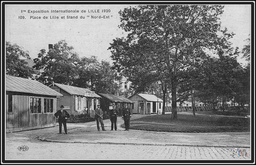 exposition internationale de lille 1920 square du ramponeau lille. Black Bedroom Furniture Sets. Home Design Ideas