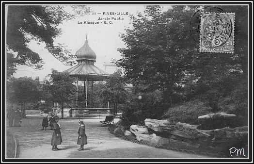 Jardin public de fives fives rue de lannoy lille fives for Le jardin d alix lille
