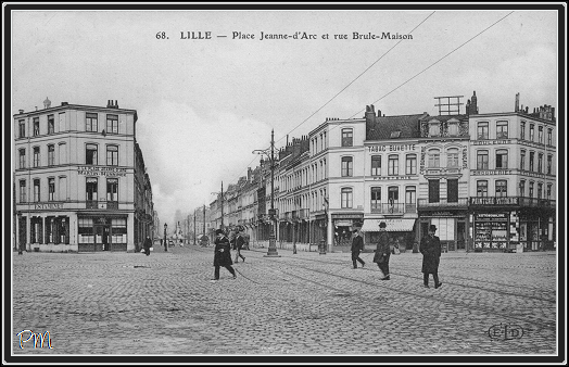 Lille place jeanne d 39 arc for 82 rue brule maison lille