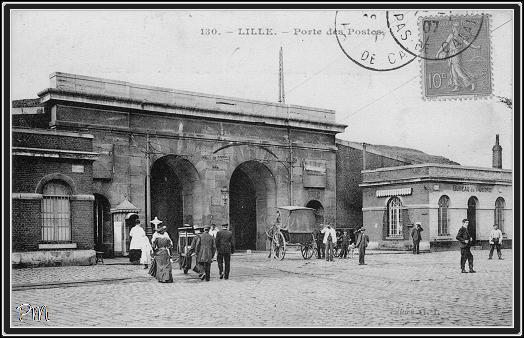 lille porte des postes lille cimetiere du sud faubourg des postes lille sud wazemmes