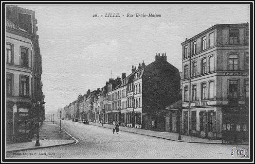 Lille rue brule maison lille rue de lens for 82 rue brule maison lille