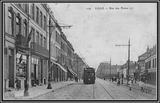 Lille rue des postes lille rue brule maison rue gantois for 82 rue brule maison lille