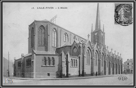Eglise notre dame de fives lille fives eglise de lille fives - Eglise notre dame de la treille lille ...